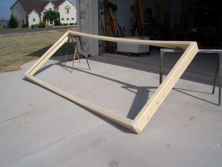 Diy curved home theater screen